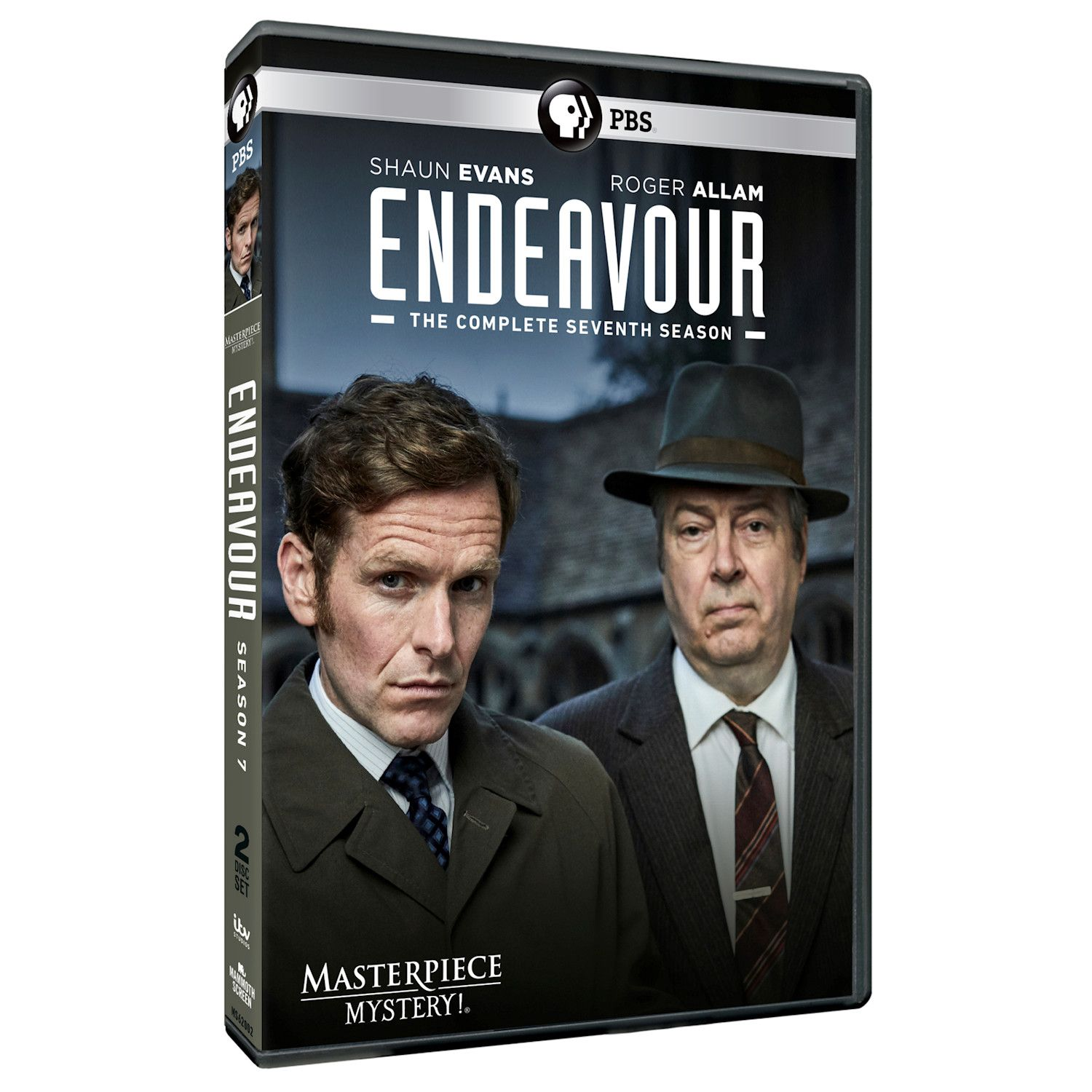 Endeavour Season 7 Dvd & Blu-ray - Blu-ray