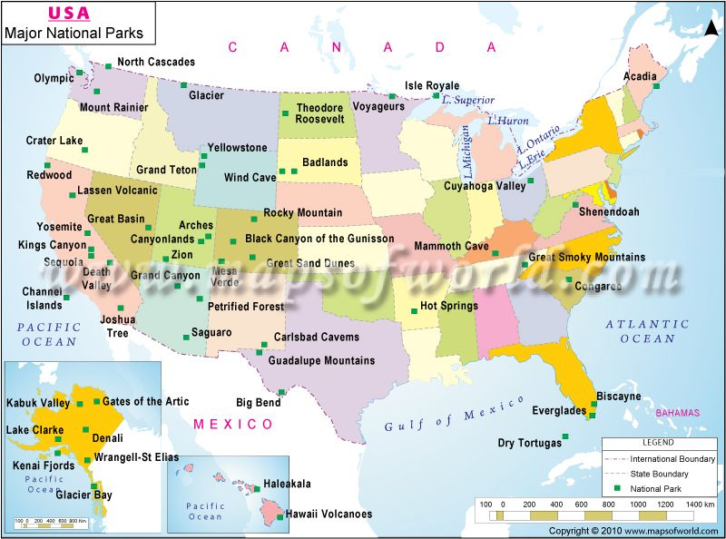 National Parks | Amazing getaways | National parks usa ...