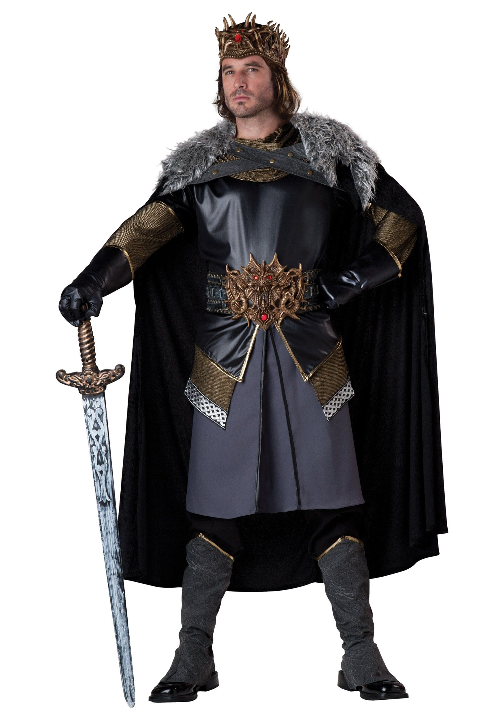 Men's King Arthur Costume - This is an elaborate King Arthur ...