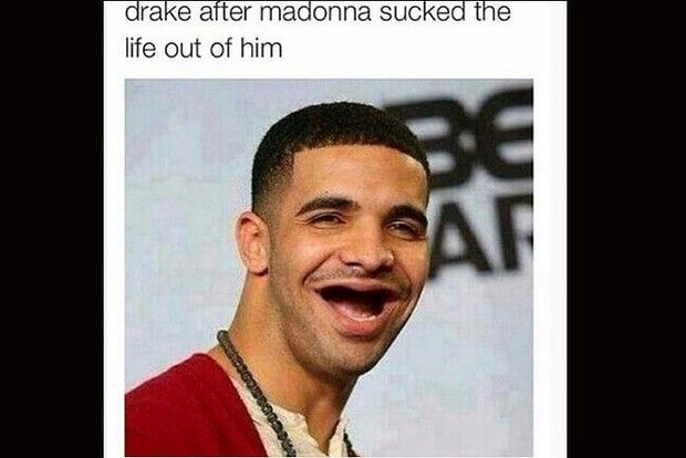 3cca6fb428b22902fe5d0efb09951cc2 15 hilarious memes of that drake and madonna kiss [gallery],Hilarious Memes Pictures