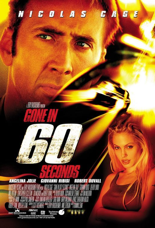 Gone In 60 Seconds Movie Poster Internet Movie Poster Awards