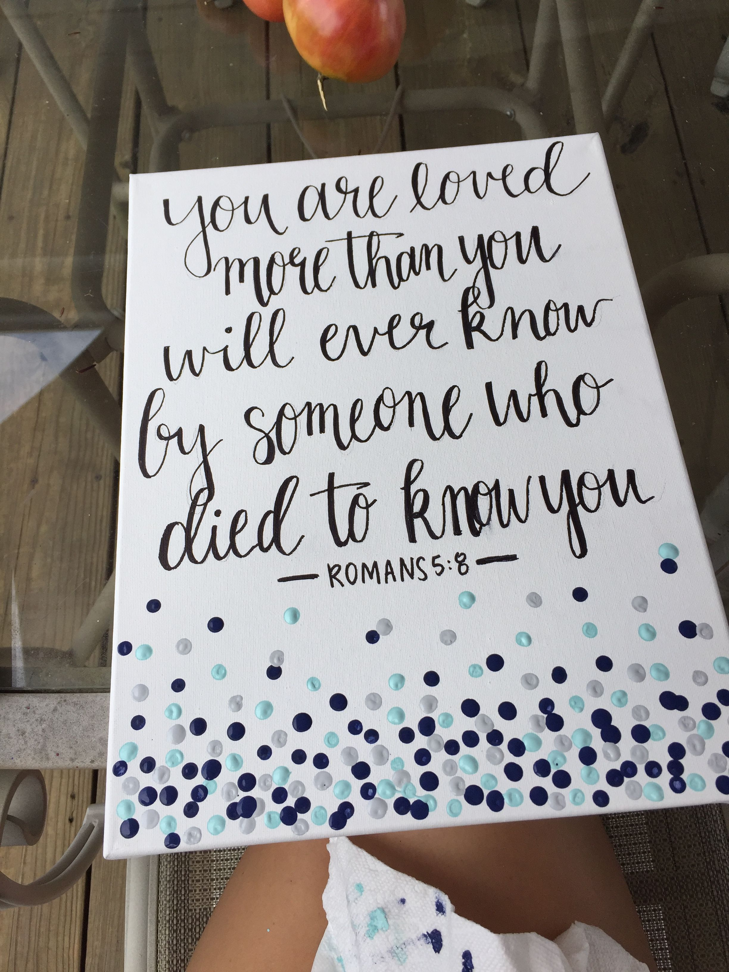 Canvas Painting Quotes Verse