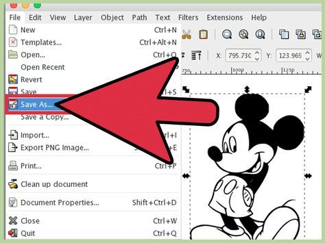 How To Trace An Image Using Inkscape Cricut Tutorials Bitmap To Vector Image