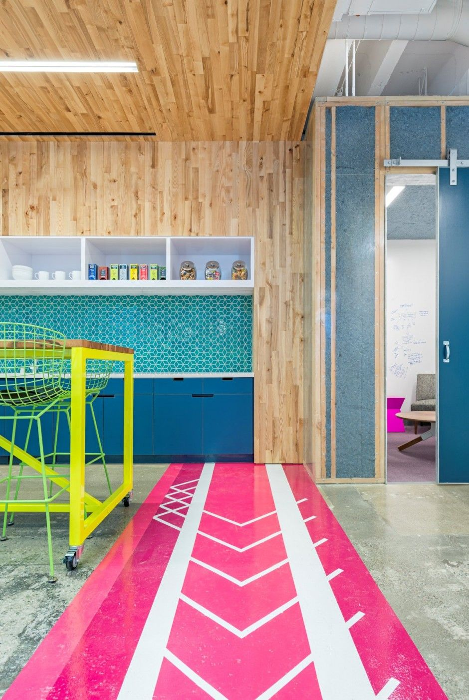 The Capital One Lab by Studio O+A-color material