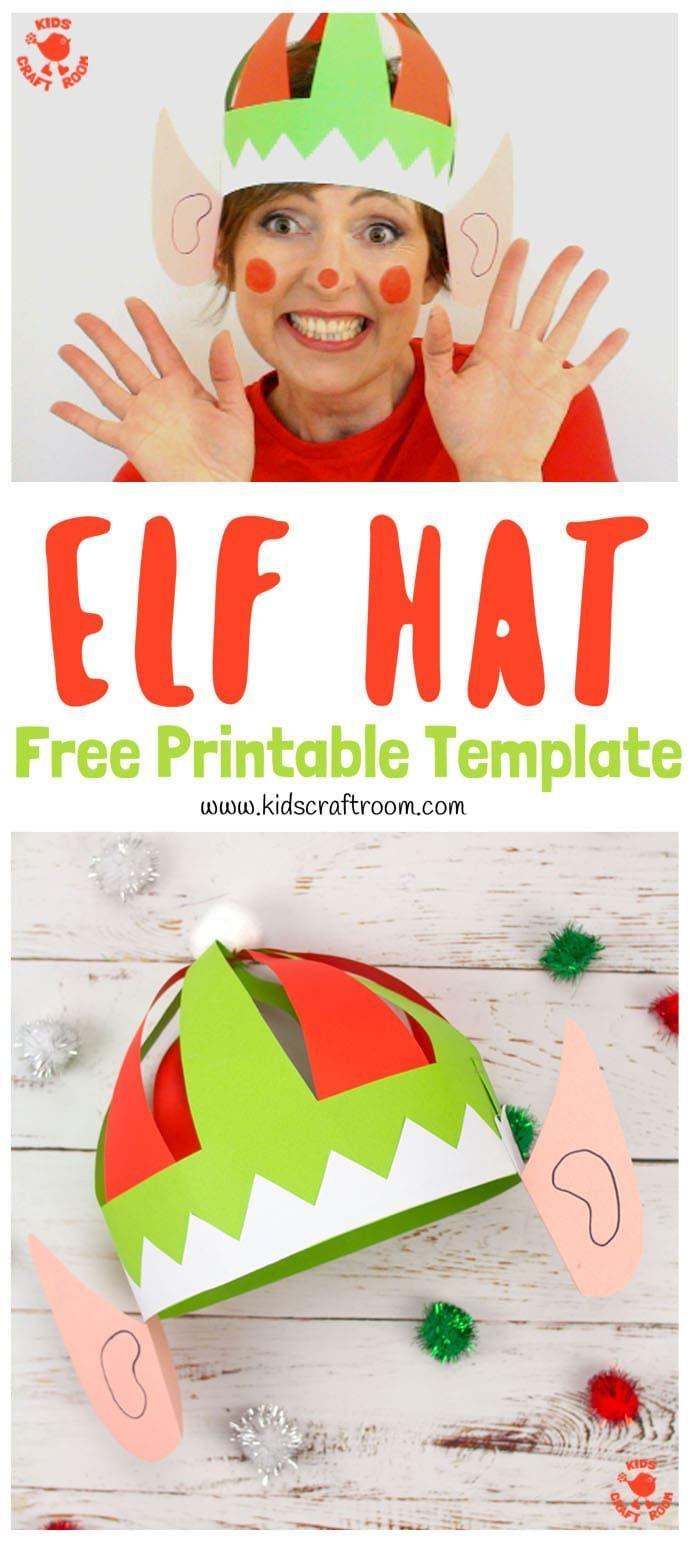 DIY Elf Hats