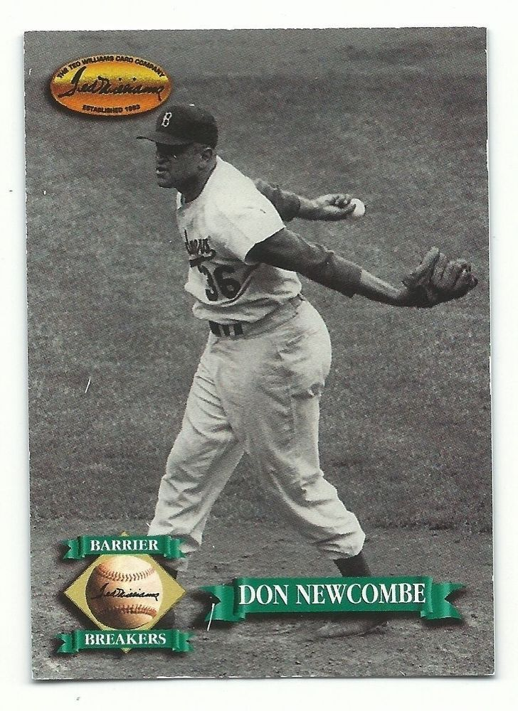 ted williams baseball card company
