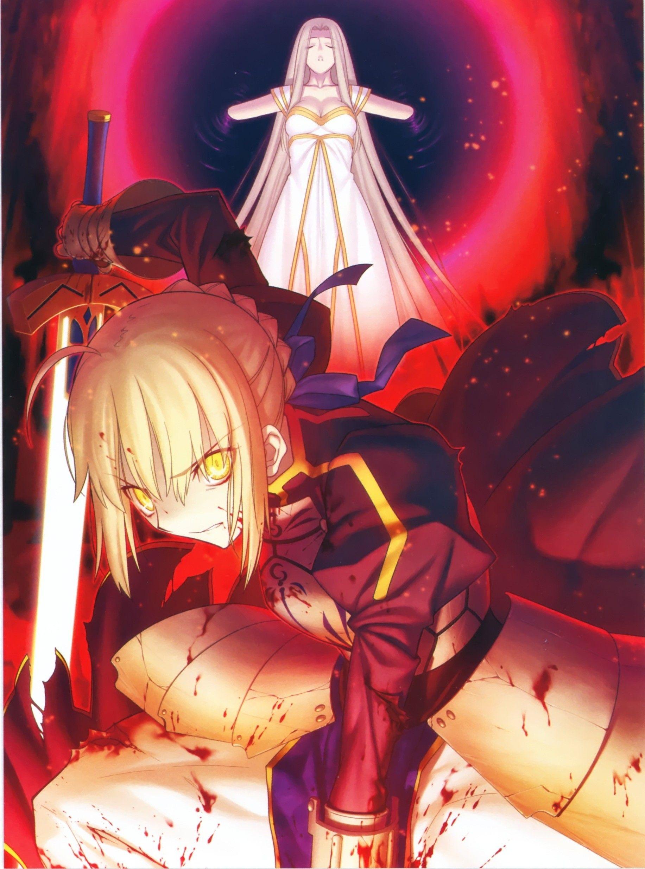 Fate Zero Stay Night Shirou Emiya HD Print Anime Wall Poster Scroll Room Decor