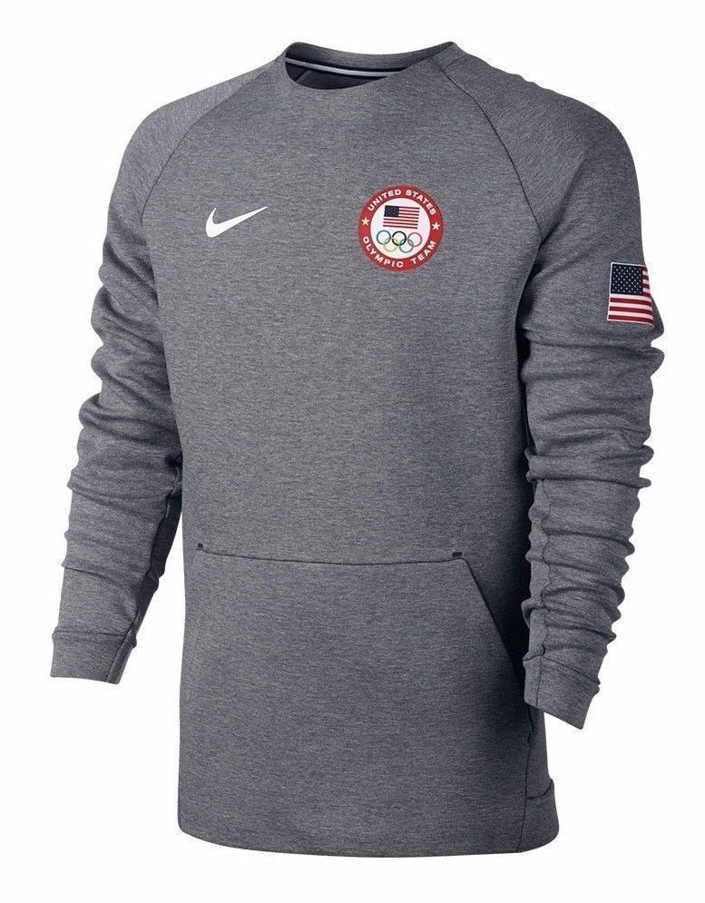 e44a48a1d Nike Men's Tech Fleece Crew Sweatshirt Team USA 2016 Olympics 807601-063 M  NWT #Nike #SweatshirtsFleeces
