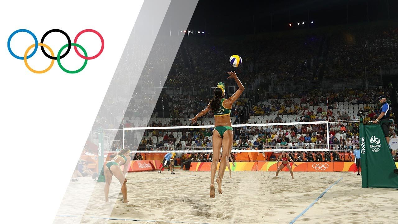 Rio Replay Women S Beach Volleyball Bronze Final Olympic Channel Usa Olympics Olympic Team