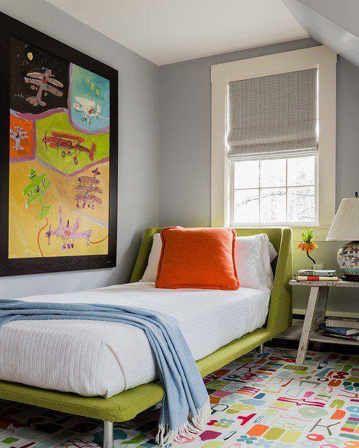 17 Vibrant Mid-Century Modern Kids\' Room Interior Designs Your Kids ...