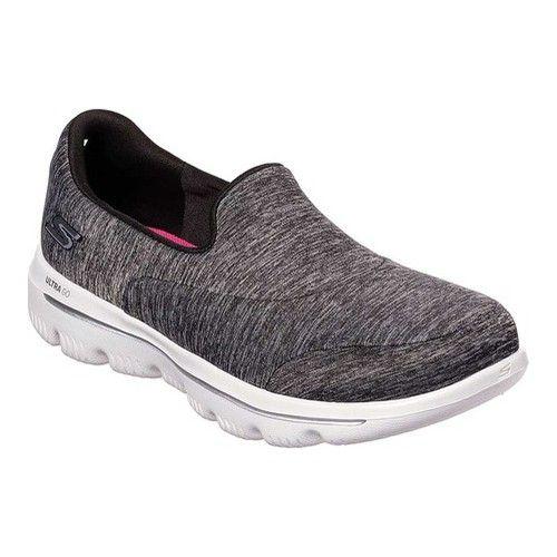Skechers Gowalk Evolution Ultra Amazed Slip On Walking Shoe