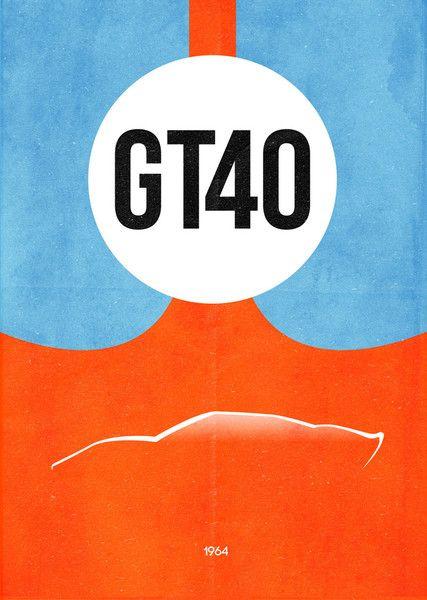 Flyer Goodness: Car & Film Posters by Dean Walton