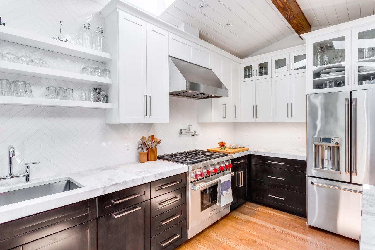 Best Contemporary Kitchen In Midcentury House Diy Kitchen 400 x 300