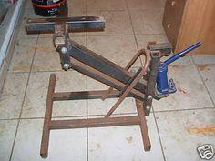 Vespabcn Ver Tema Elevador Hidráulico Para Motos Homemade Tools Metal Working Projects Garage Tools