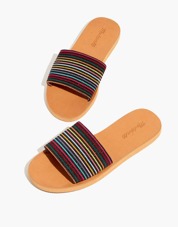 9bd50c3737a The Maddie Slide Sandal in Rainbow Stripe in 2019 | Products ...