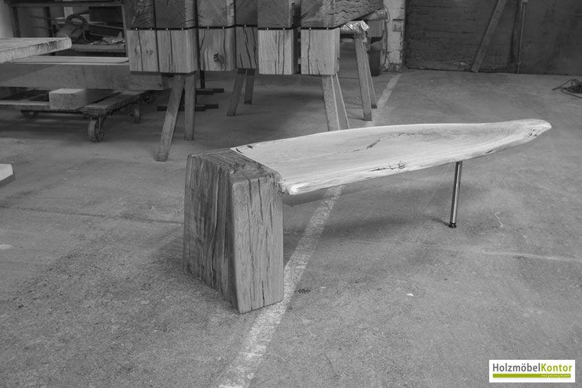 #Tisch #Einzelstück Vom Http://www.holzmoebelkontor.de #Baumtisch