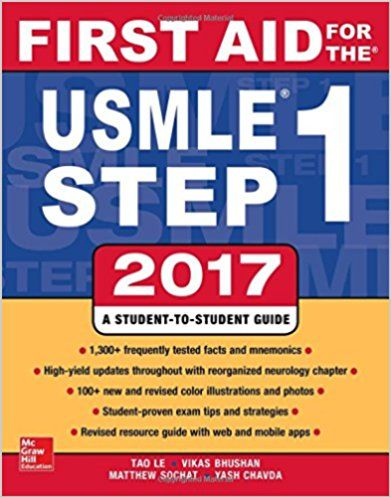 Pdf Download First Aid For The Usmle Step 1 2017 Free Pdf Free