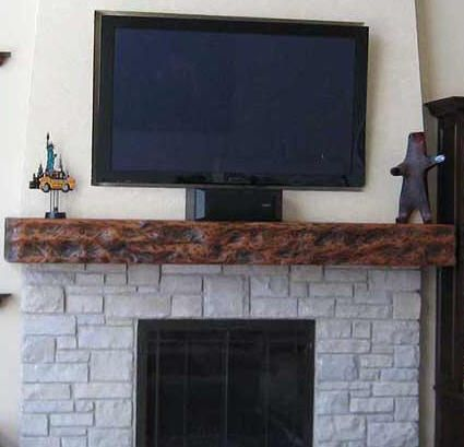 custom redwood fireplace mantels for the home pinterest rh pinterest com Curved Fireplace Mantel Curved Fireplace Mantel