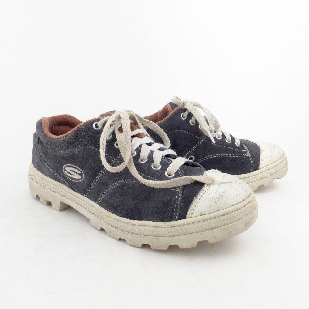 Skechers Suede Sneakers Vintage 1990s Jammers Men S Size 6 By