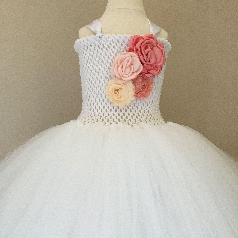 White Flower Girl Dress Toddler Pink Tutu Dress Princess Etsy White Flower Girl Dresses Toddler Flower Girl Dresses Pink Flower Girl Dresses [ 3000 x 3000 Pixel ]