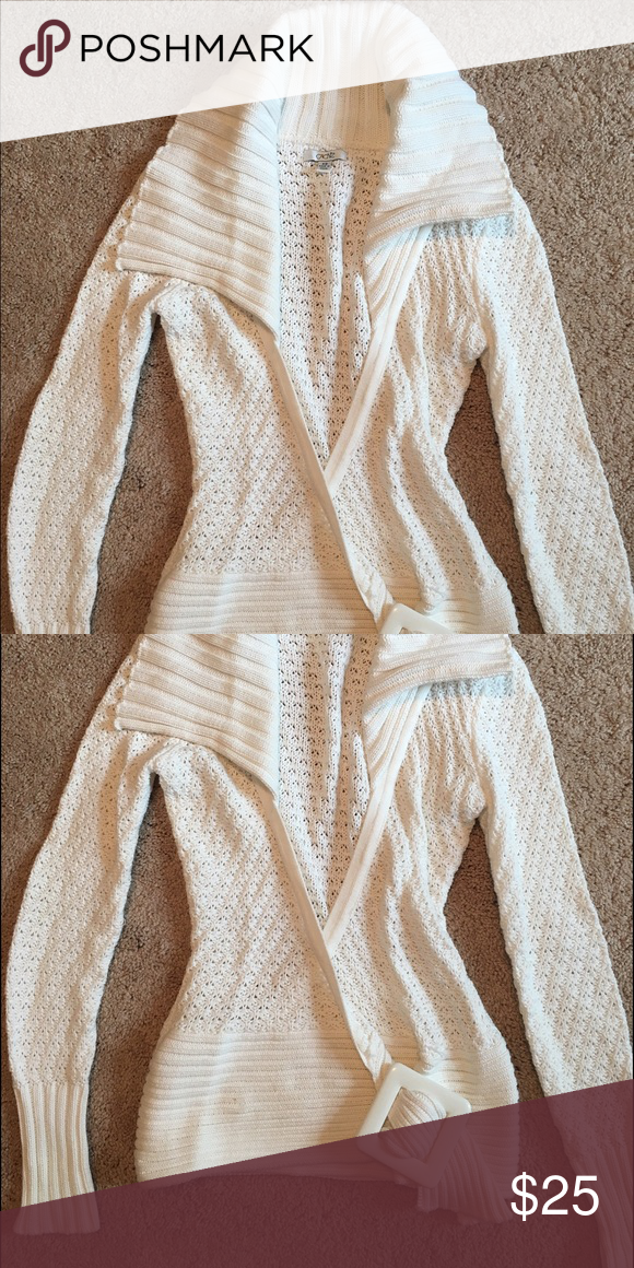 Cache winter white sweater   Winter white, Never and Most