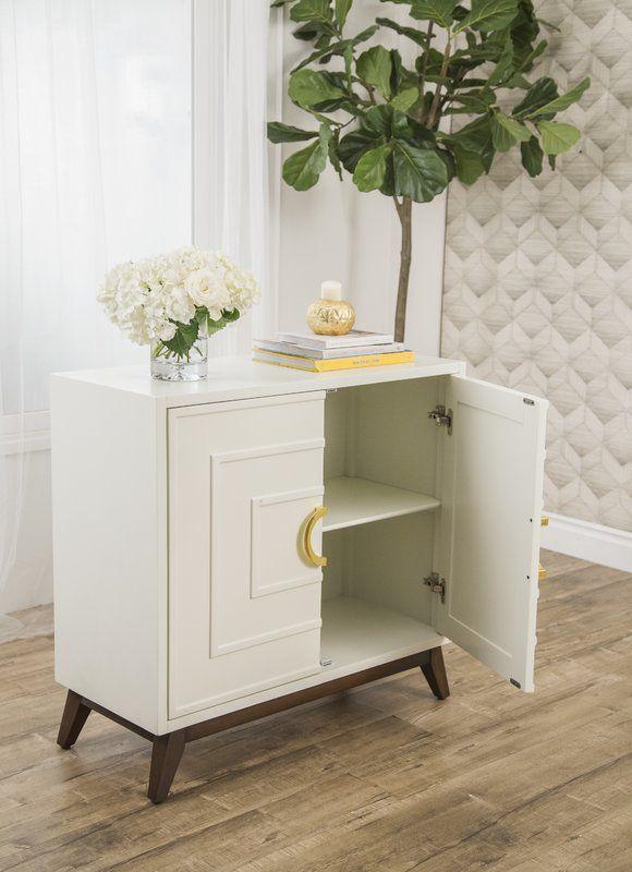 Best Lilo 2 Door Accent Cabinet Allmodern Accent Cabinet 400 x 300