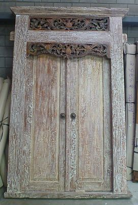 Beautiful Recycled Teak Reproduction Balinese Door & Balinese/Javanese Front door. Will have this in my house someday ... Pezcame.Com