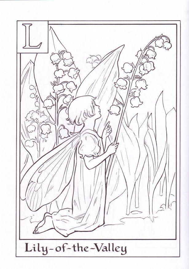 Flower Fairies Alphabet Coloring Book Fairy Coloring Book Fairy Coloring Pages Fairy Coloring