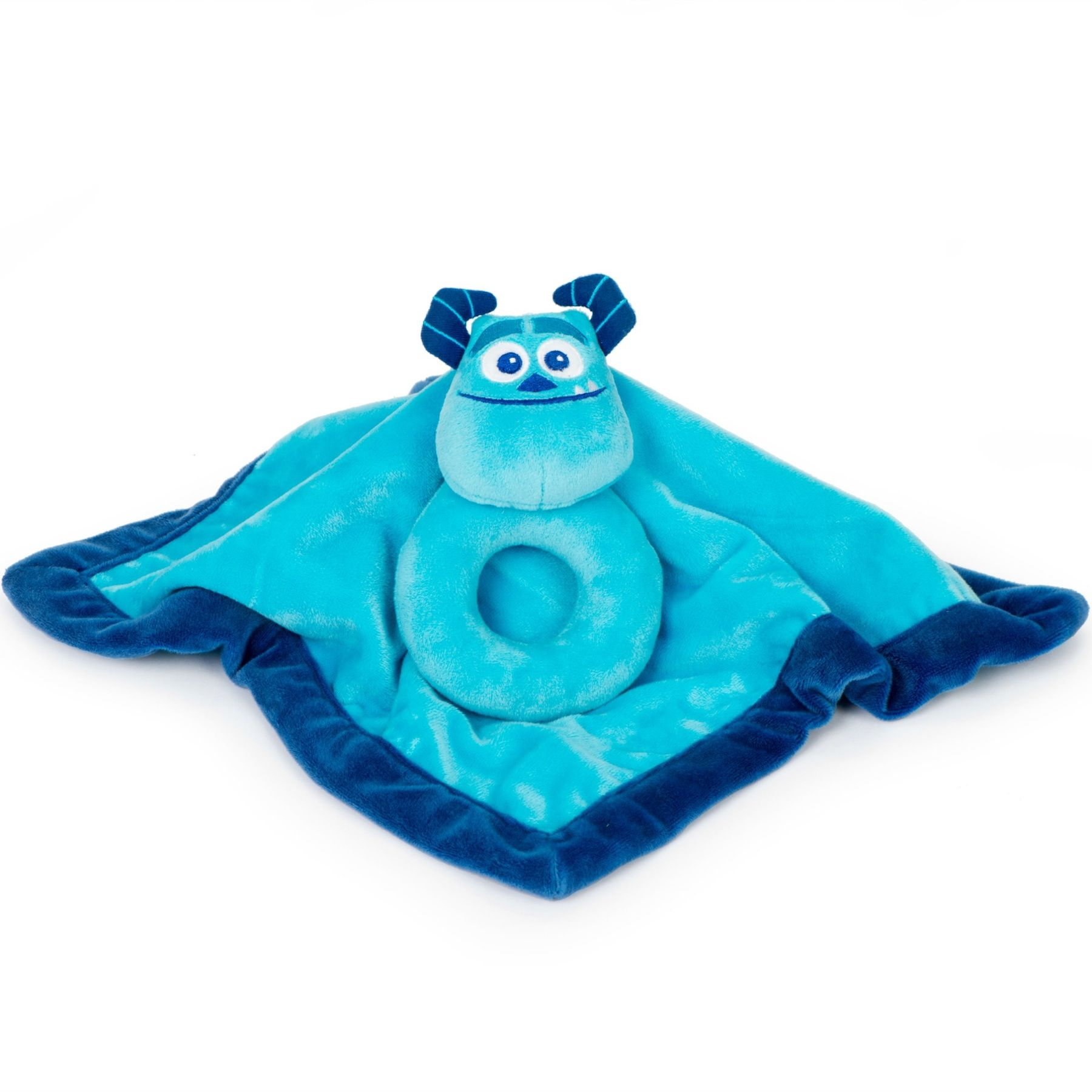MONSTERS, INC. Sulley Security Blanket and Ring Rattle Set