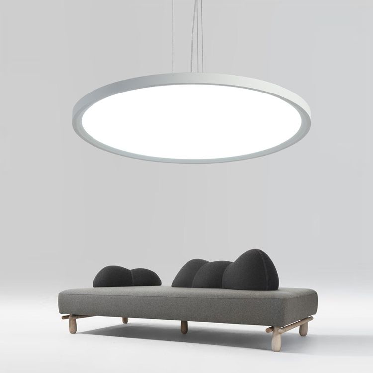 Lampe blanche – suspension luminaire – led lighting – lampe ...