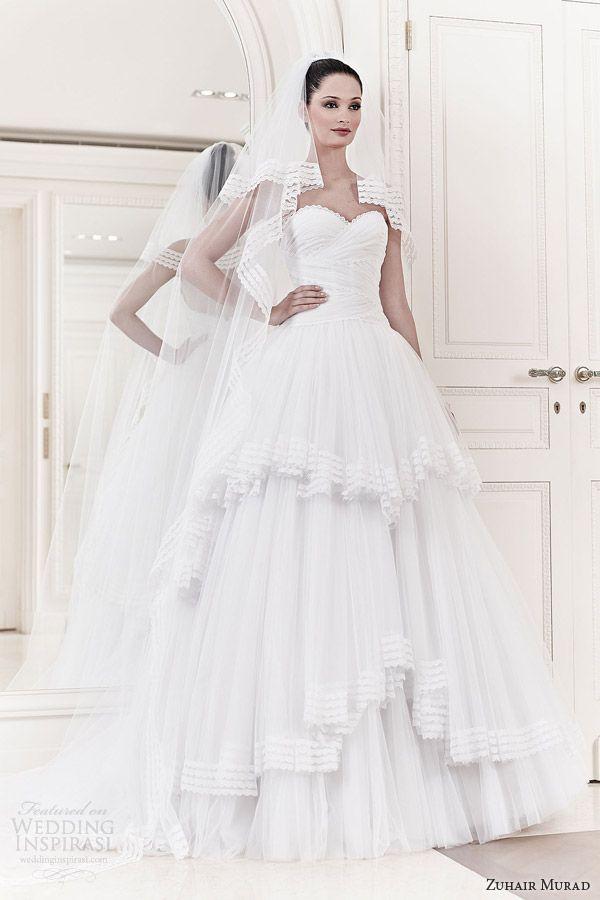 0e690637e80 zuhair murad wedding dresses 2014 bridal alexia strapless ball gown