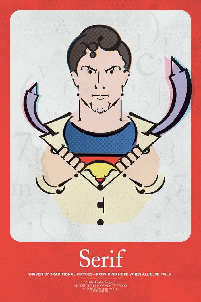 Serif Superhero