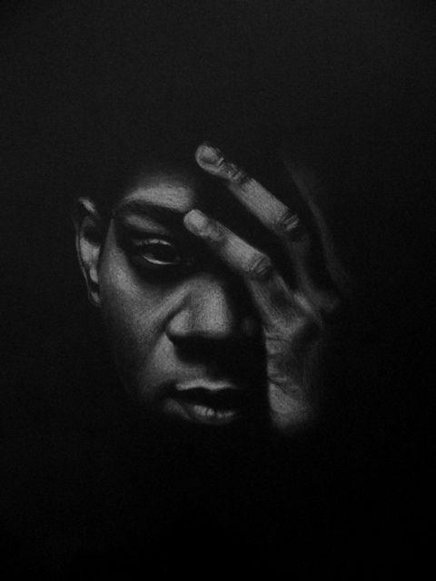 drawing on black paper …   Pinteres…