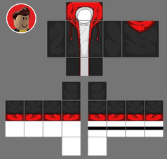 Red Nike Jacket Roblox