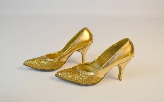 1960s Gold Heels by Michael Finelli