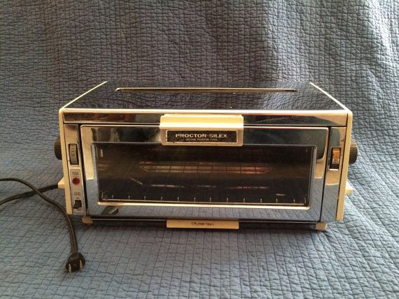 Vintage Proctor Silex Deluxe Toaster Oven With Bread Toaster Toaster Oven Proctor Silex Toaster
