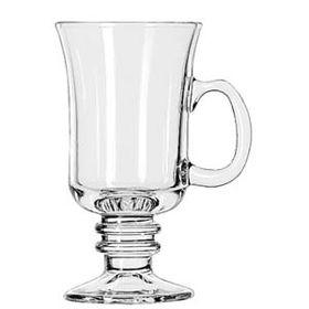 Libbey 5294 Glass Paneled Irish Coffee Mugs Coffee Cups and Mugs