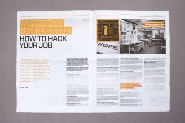 99U Magazine :: Creative Careers Issue by Raewyn Brandon