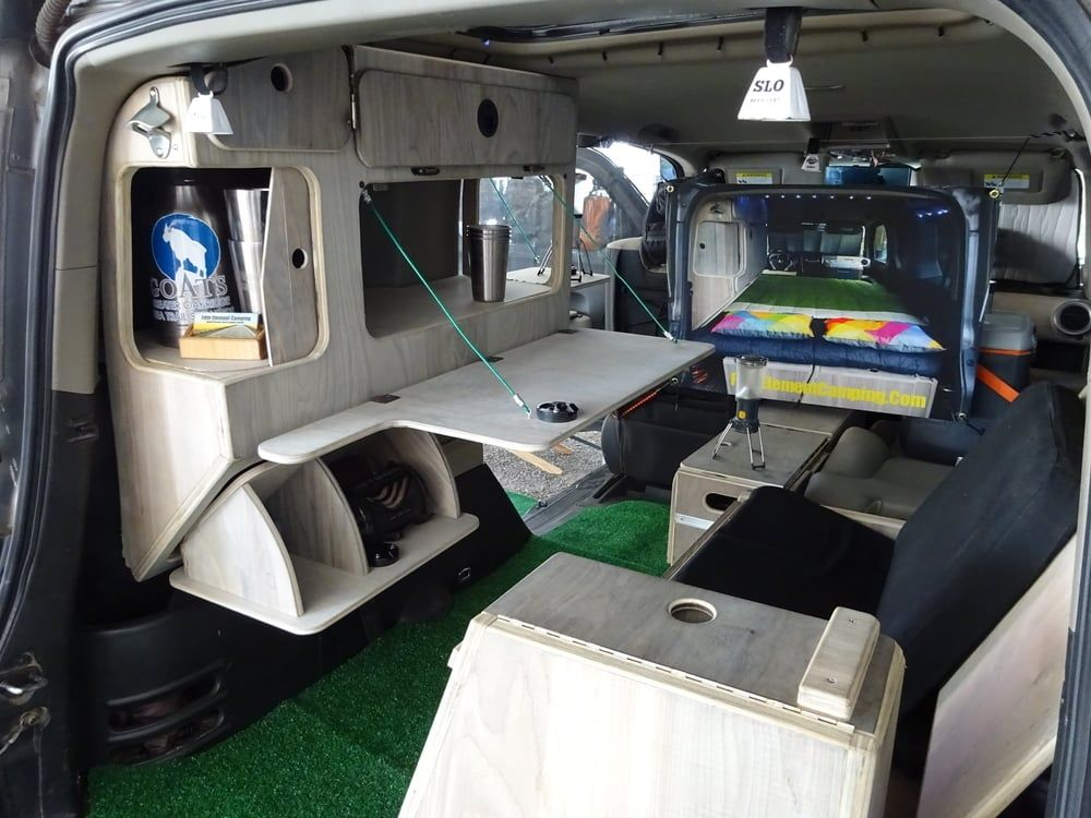 Honda Odyssey Camper >> Micro Camper Concept from Fifth Element Camping. The ultimate Element camping system? | Honda ...
