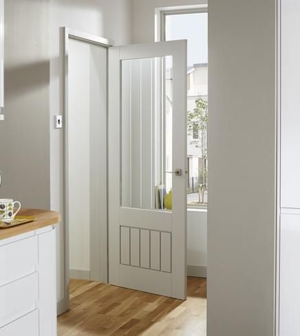 Primed dordogne glazed door internal door for kitchen pinterest the minimalist look of this shaker style primed dordogne glazed door can enhance many interiors primed and ready for painting this door also comes with planetlyrics Choice Image