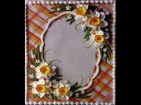 Airbrush Cake Top Designs--Lattice & Striped Effects ~ Video Tutorial