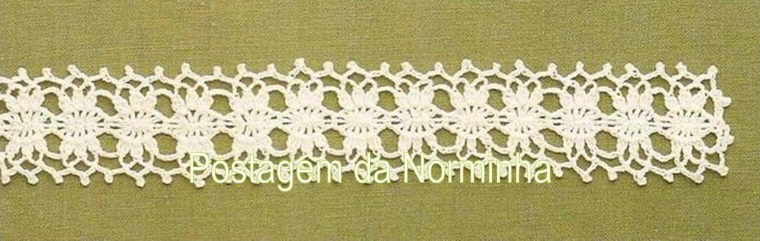 OFICINA DO BARRADO: Croche - Uma renda com outras utilidades ...