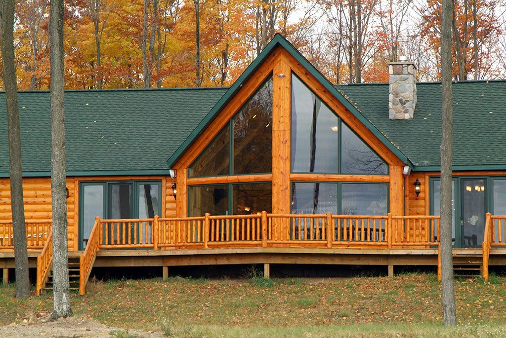 Fairview Gallery Log Siding Lake Living House Styles