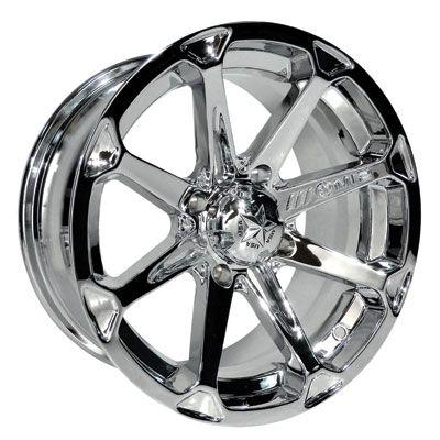 4156 Motosport Alloys M12 Diesel Wheel 14x7 4 0 3 0 Chrome