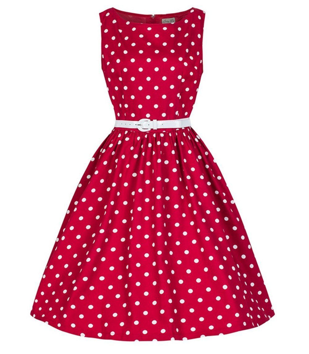 Robe rouge vintage amazon