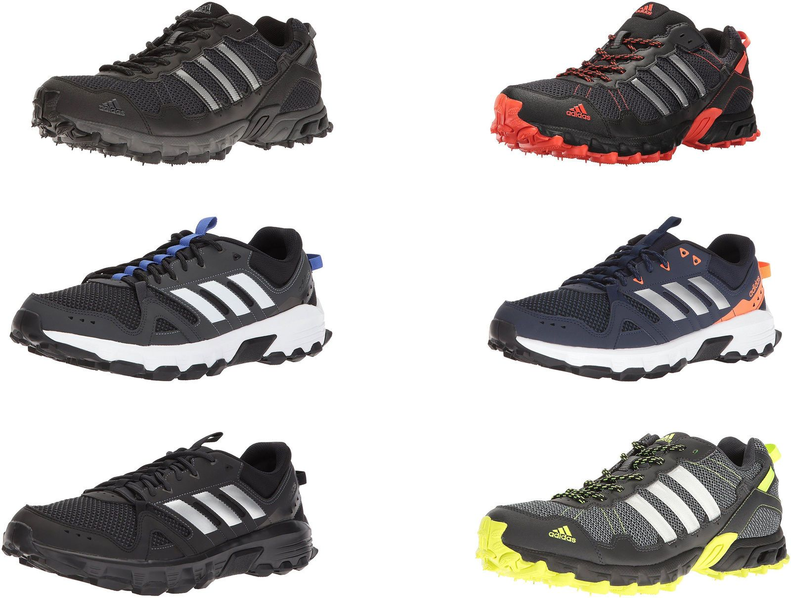 adidas Men's Rockadia Trail Running Shoes 6 Colors