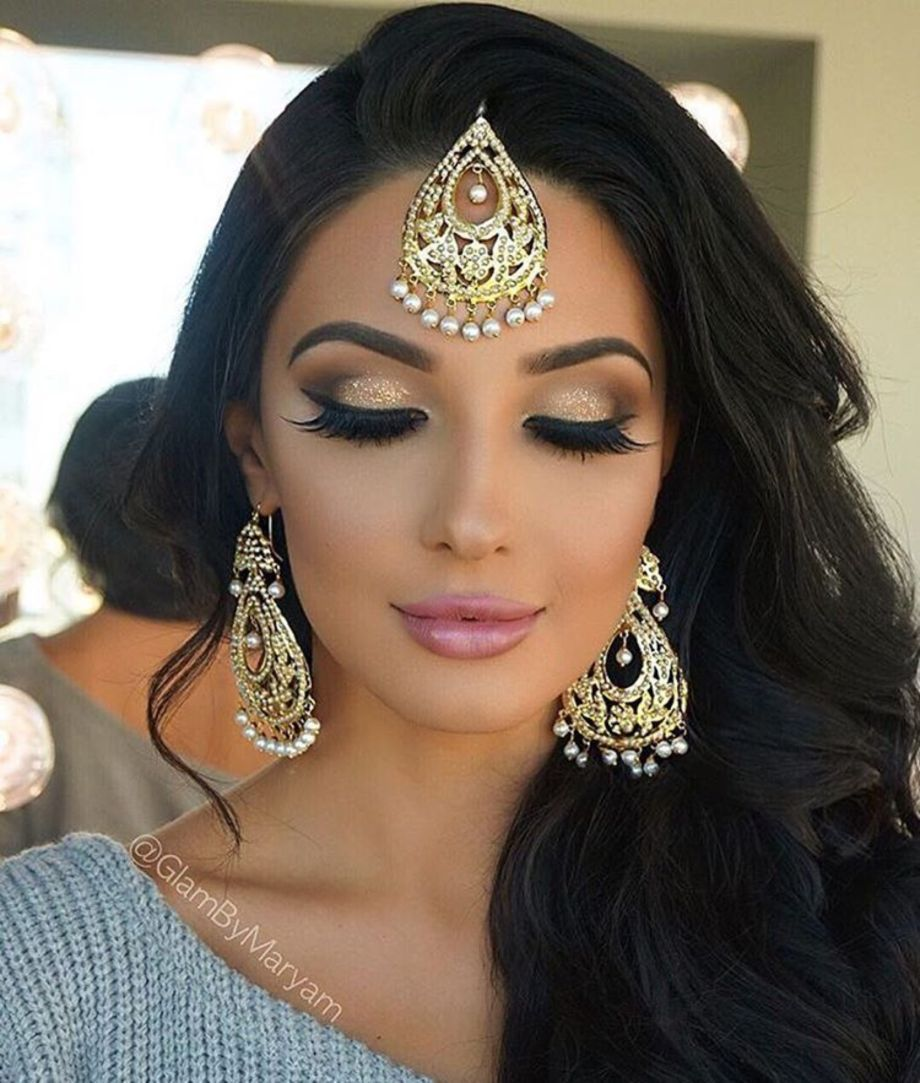 Asian Wedding Hairstyle: 70 Beautiful Ideas For Asian Bridal Makeup Looks