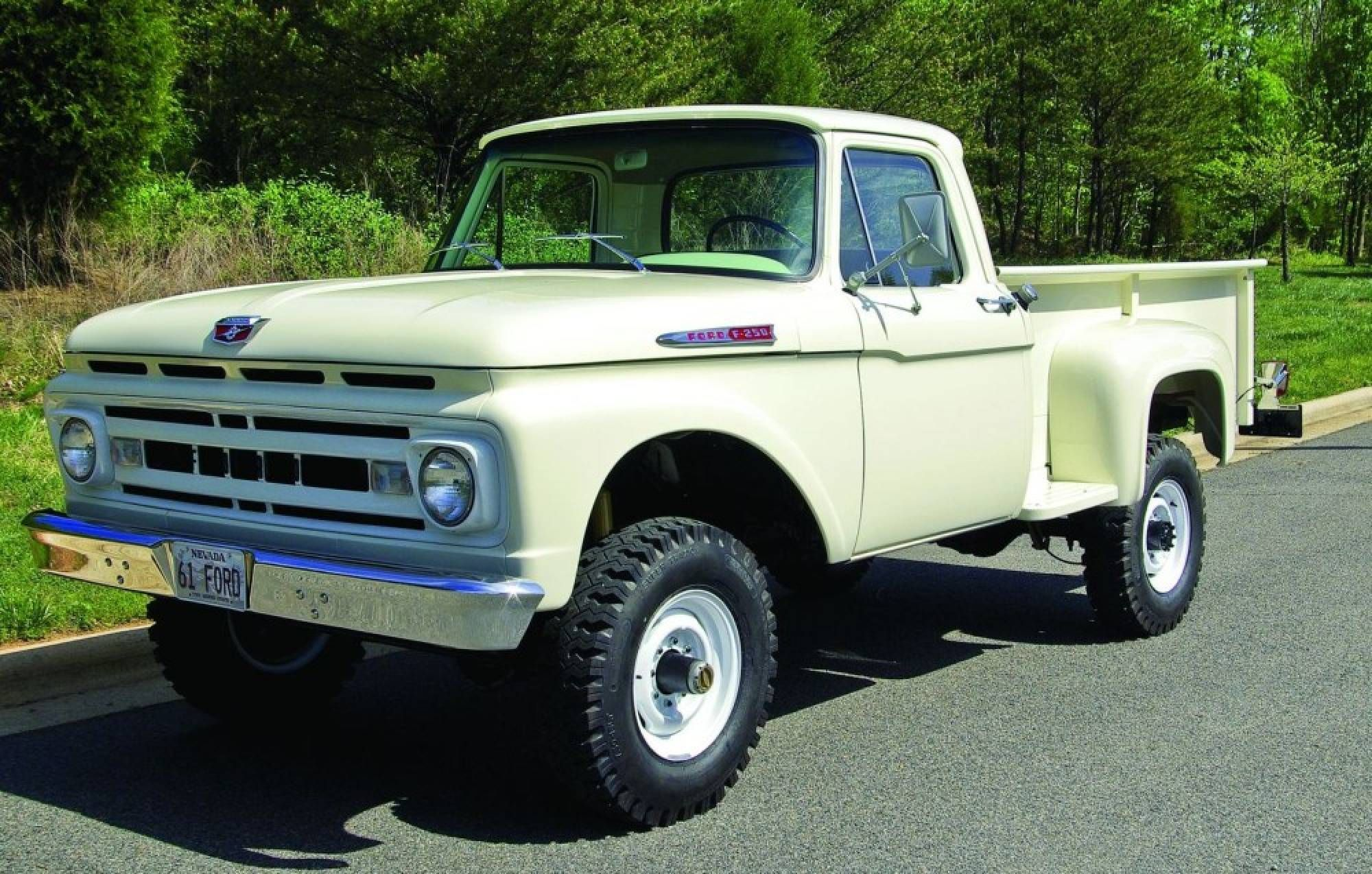Four score 1961 ford f 250 finding a vintage four hemmings motor