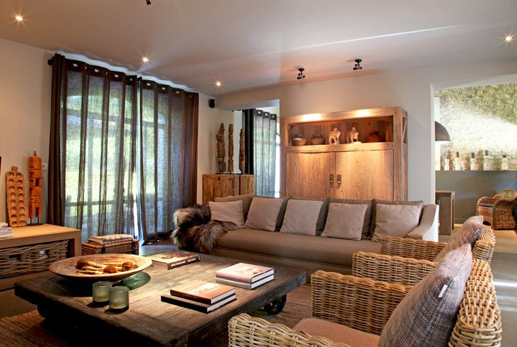 Dans le Luberon, la maison du0027Elisabeth distille une atmosphère à la - deco maison avec poutre