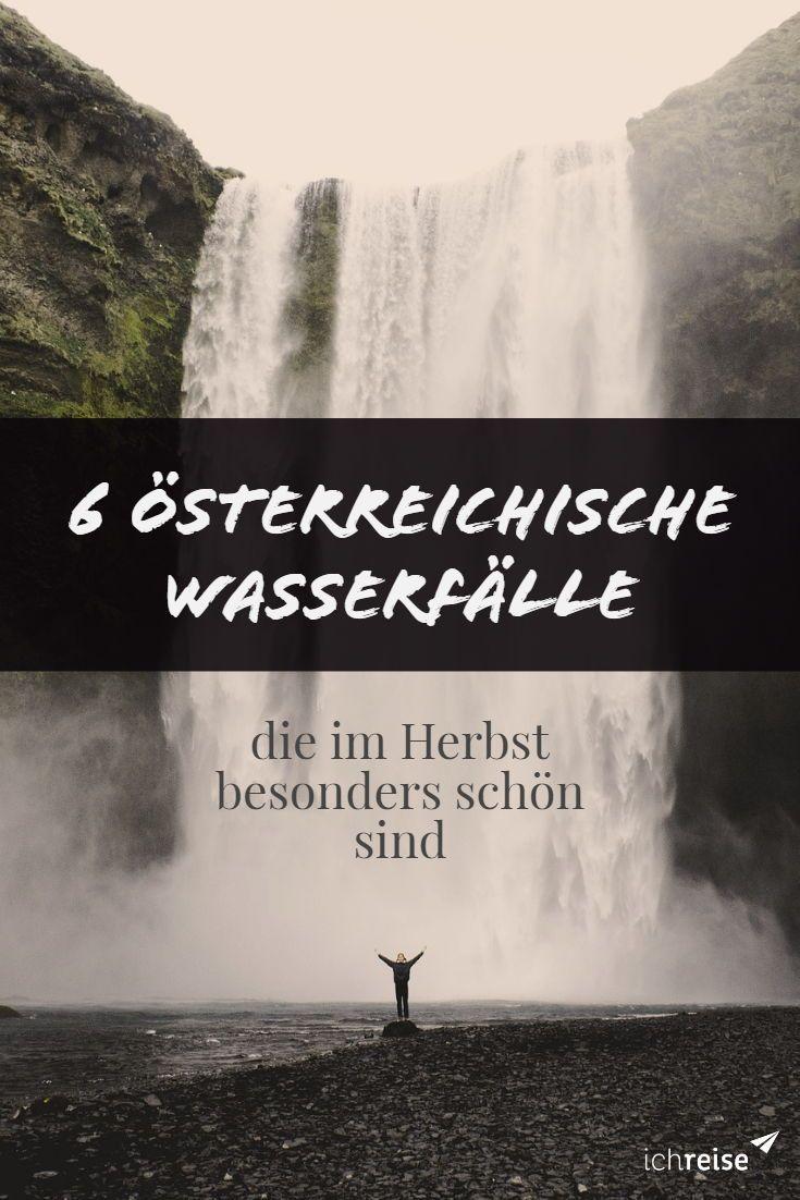 Diese 6 österreichischen Wasserfälle sind im Herbst besonders schön – ichreise